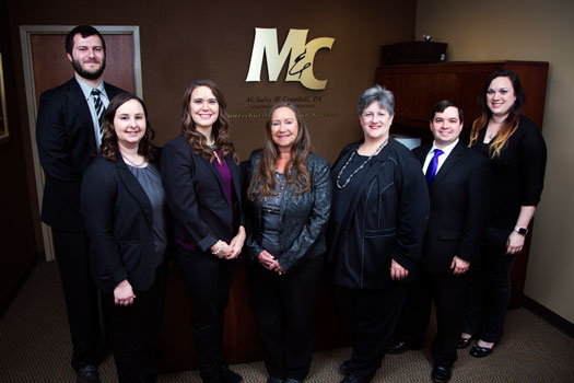 Staff picture of CPA team of McAuley & Crandall